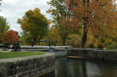 All, Fall, Locks, Trees, Canada