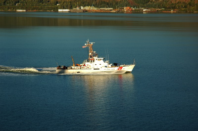 All, Boat, Ship, US Coast Guard, Wrangell, USA, Wrangell