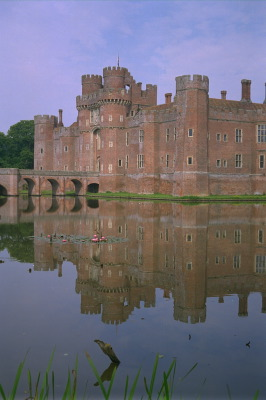 All, England,Castle, England, Reflections