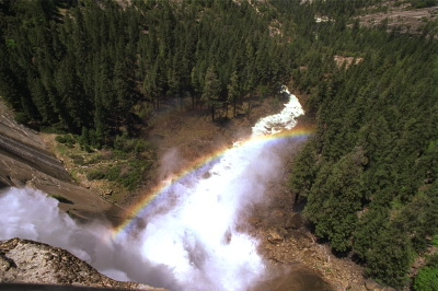 All, USA,California,Water Fall, Rainbow, Yosemite National Park