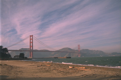 All, San Fransico,USA,California,Bridge, Beach, Water
