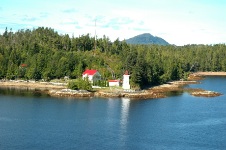 All, Light house along the Inside Passage BC, Canada, Light House, Inside Passage, British Columbia, Canada